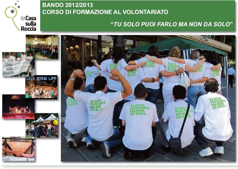 Ammessi Svolgimento Corso Volontariato 2012/2013