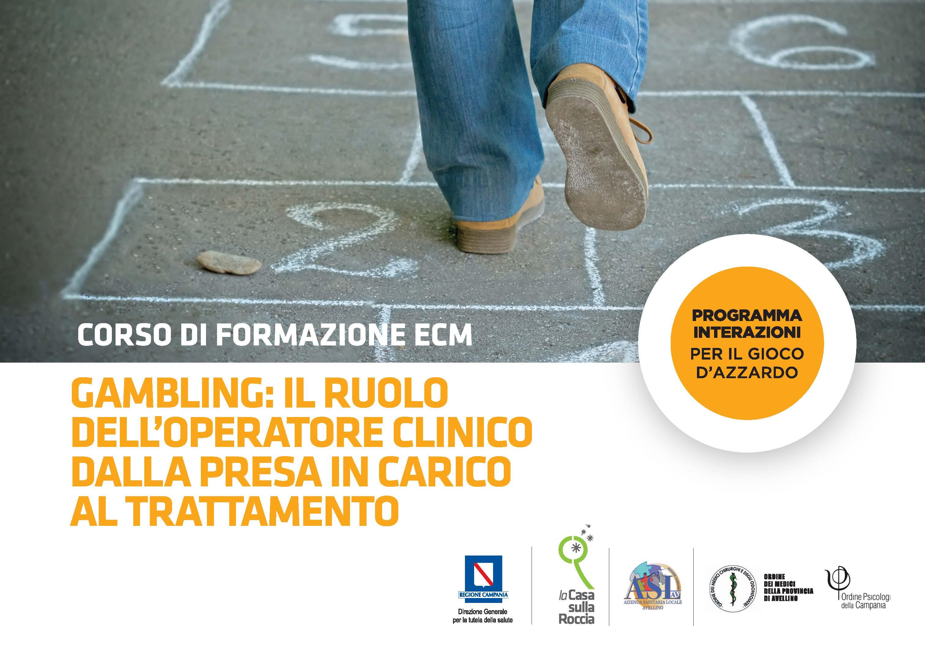 2° Giornata Formazione Medici e Psicologi Gioco d'Azzardo