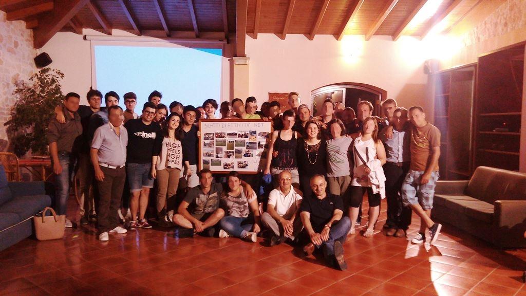 Incontro con i giovani del Progetto NET