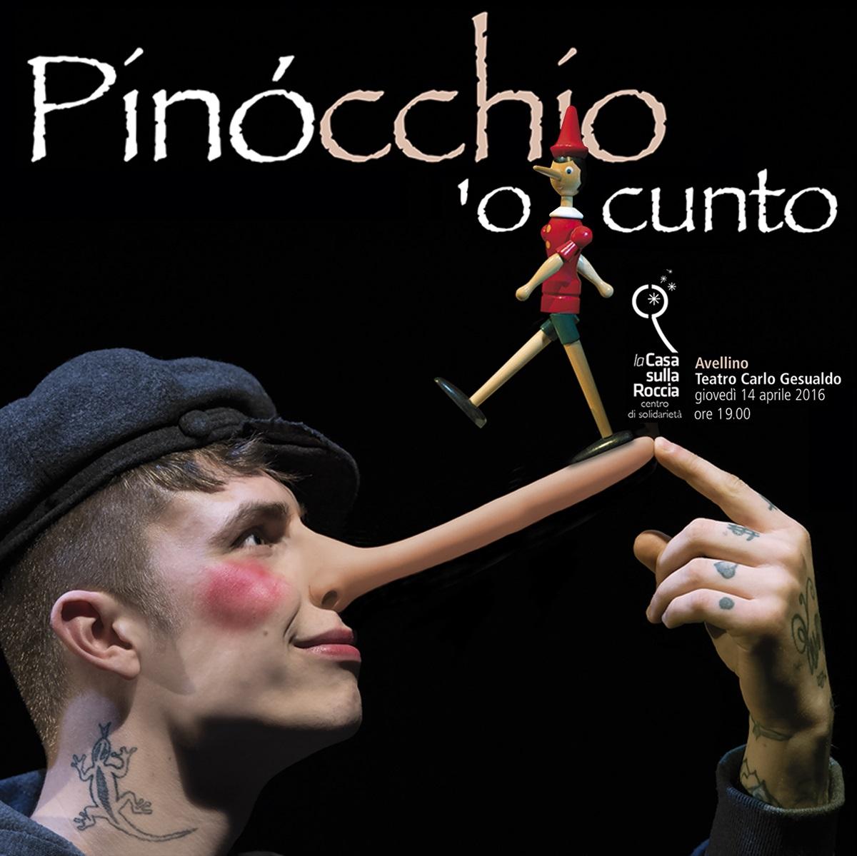 14 Aprile al Carlo Gesualdo : Pinocchio 'o cunto