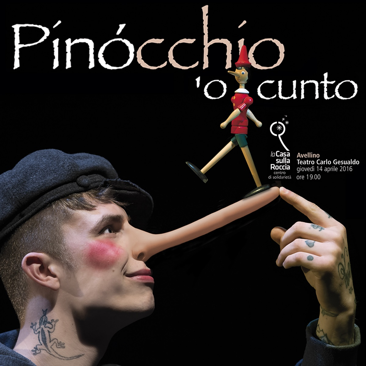 Conferenza stampa Pinocchio 'o cunto