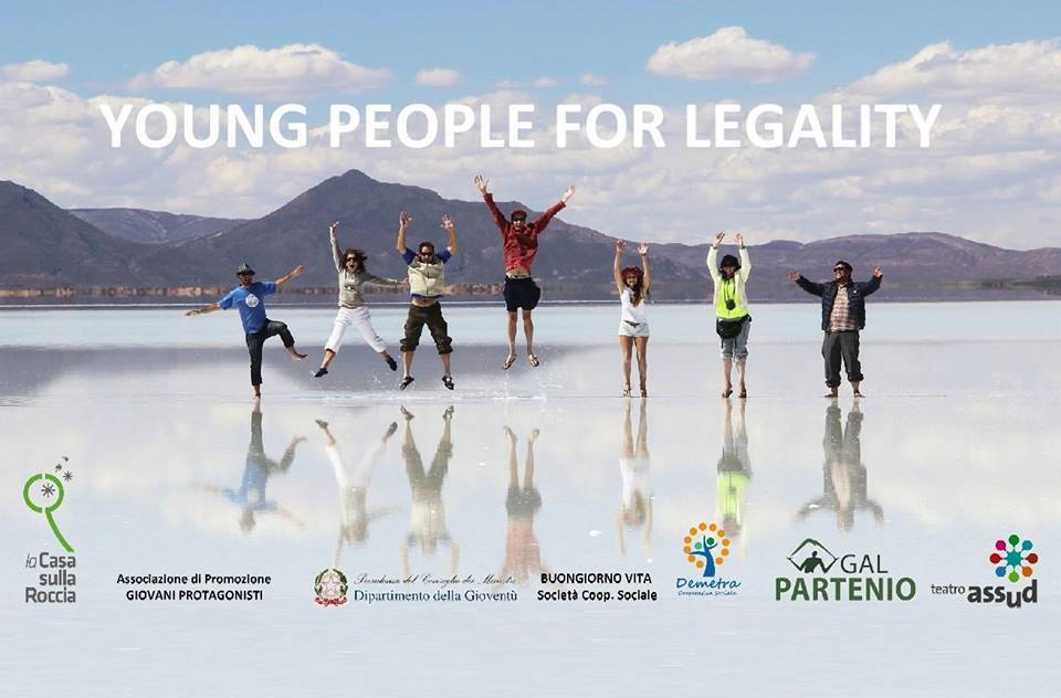 Conferenza stampa Young People for Legality