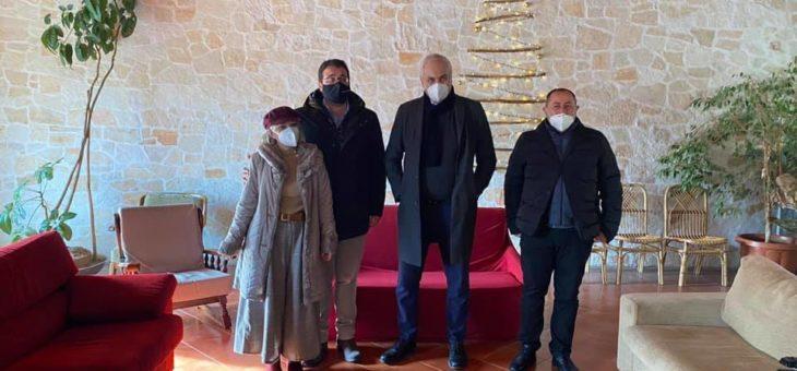 """L'Assessore all'Agricoltura della Regione Campania in visita a """"Villa Dora"""""""